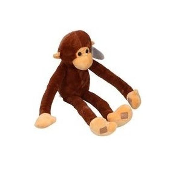 Pluche knuffelbeest aap/apen van 55cm