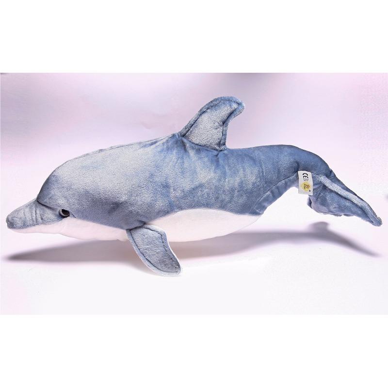 Pluche knuffeldier dolfijn 50 cm