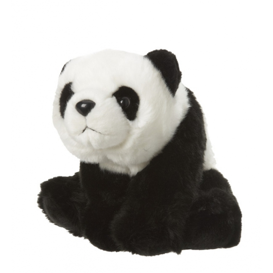Pluche knuffeldier panda 22 cm