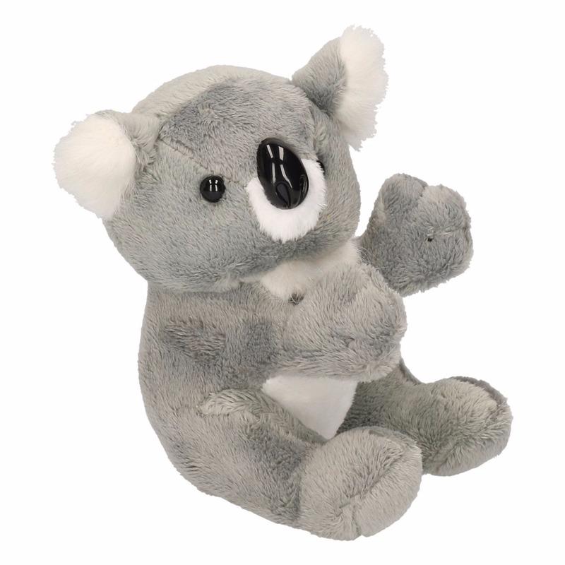 Pluche koala beertje knuffel 14 cm