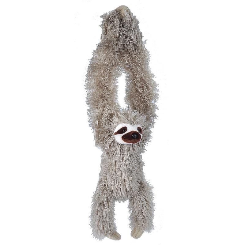 Pluche luiaard dierenknuffel 40 cm