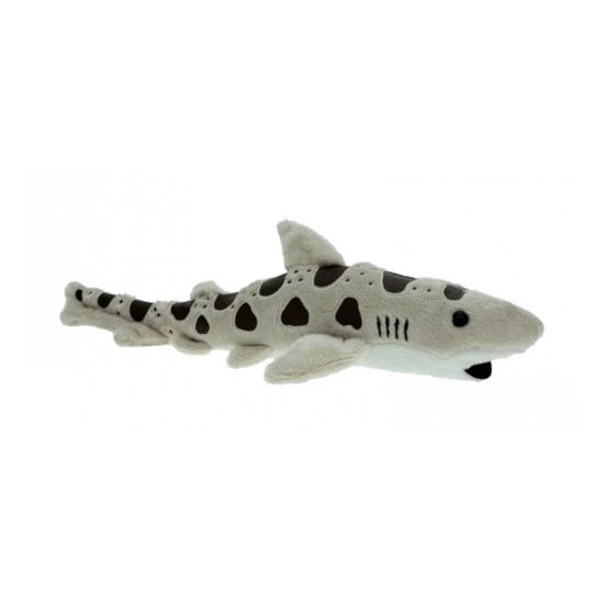 Pluche luipaard haaitje 31 cm