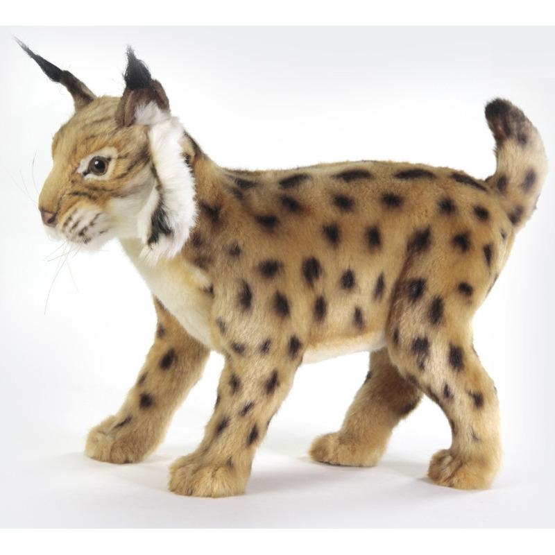 Pluche lynx knuffel 35 cm