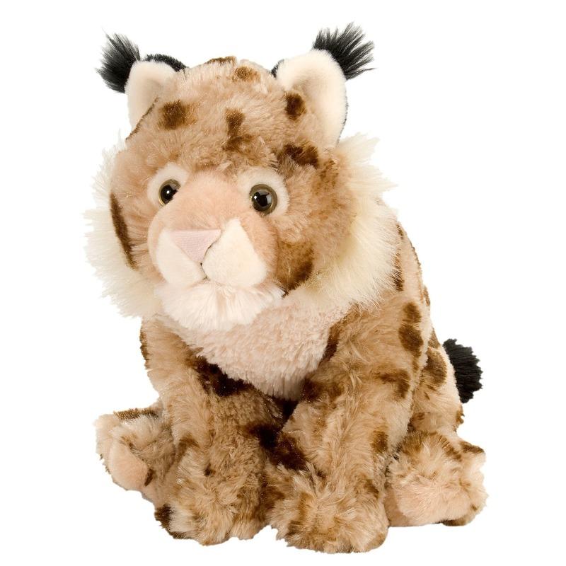 Pluche lynx knuffeldieren van 30 cm