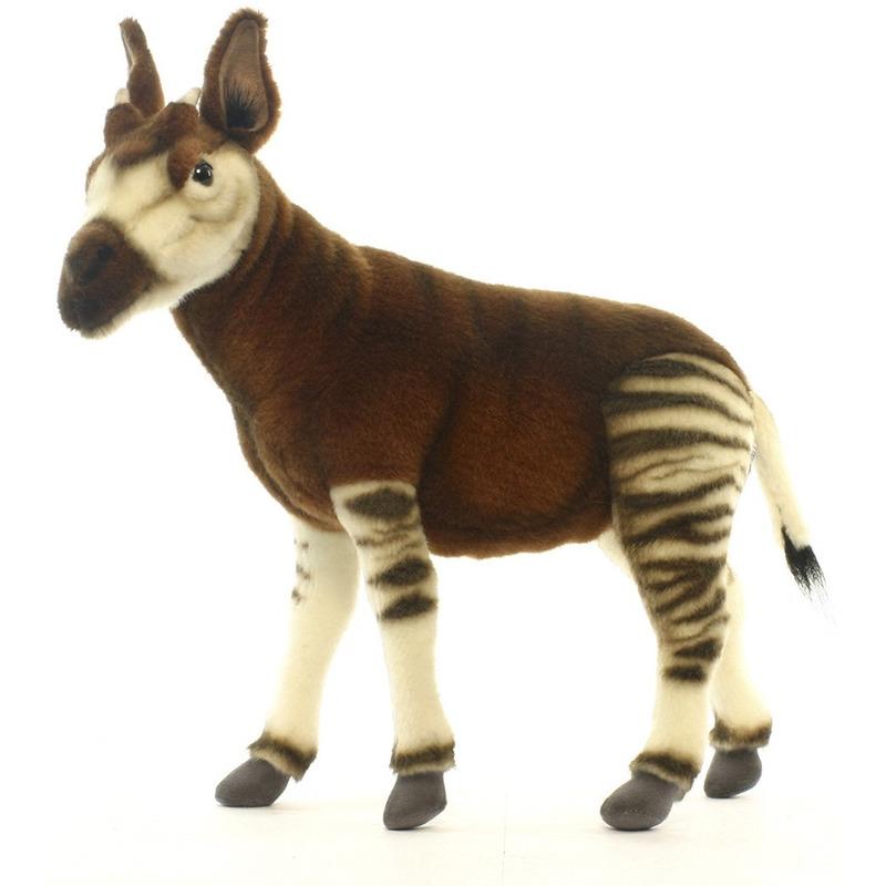 Pluche okapi knuffel 35 cm