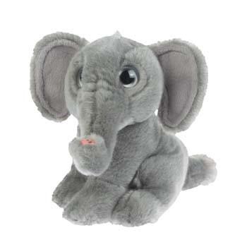 Pluche olifant knuffel 18 cm