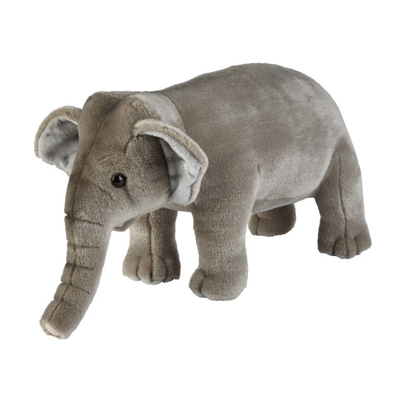 Pluche olifant knuffels dier 50 cm