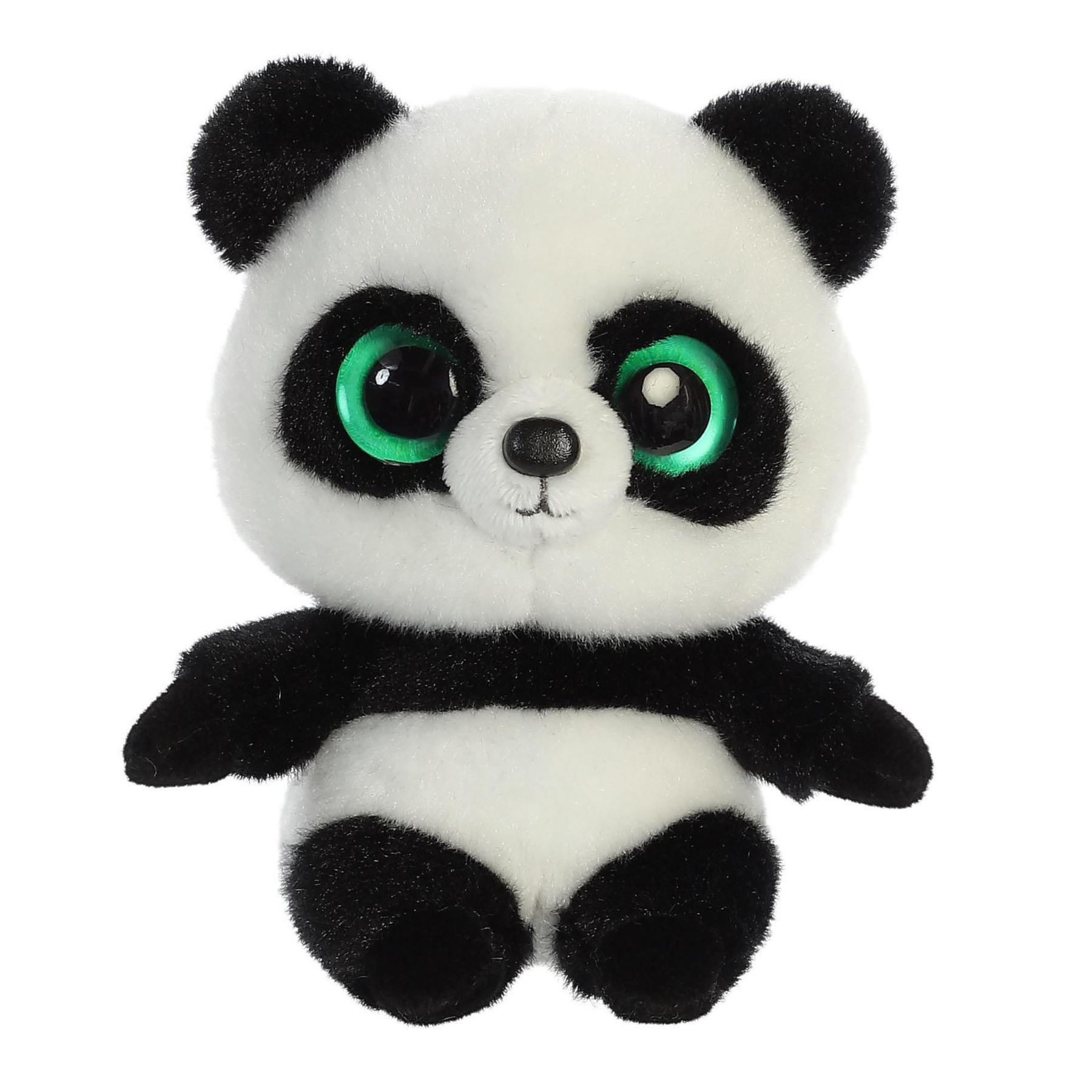 Pluche panda beer knuffel 15 cm