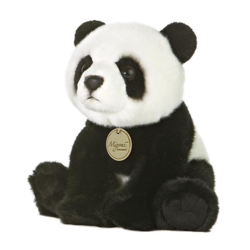 Afbeelding Pluche panda beer knuffel 26 cm door Animals Giftshop