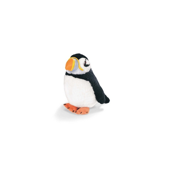 Pluche papegaaiduiker met geluid 14 cm