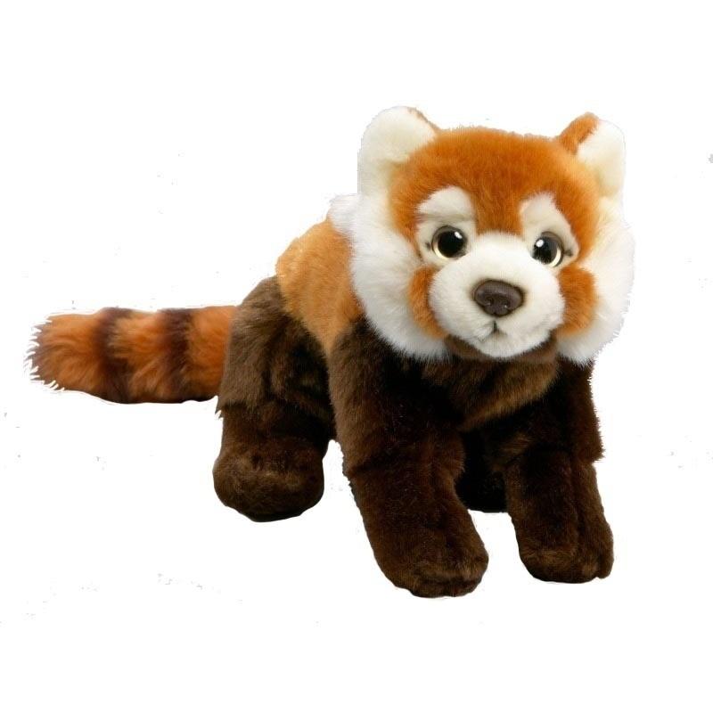 Pluche rode panda knuffels 37 cm