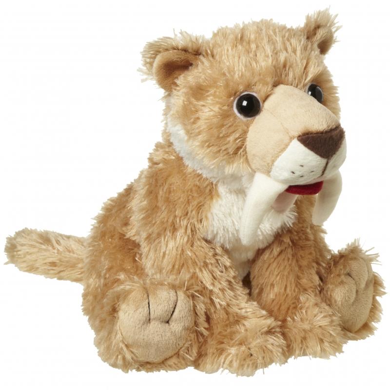 Pluche Sabeltand tijger knuffeldier 24 cm