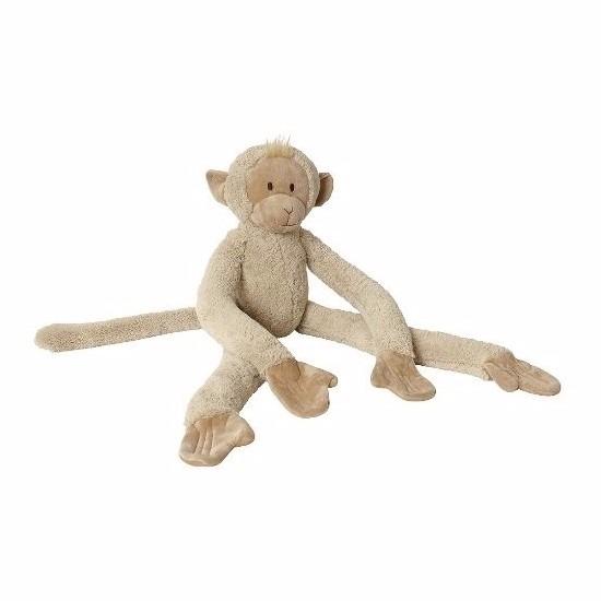 Pluche slinger aap knuffel 85 cm