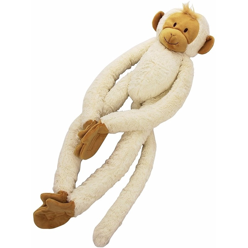 Pluche slinger aap knuffels 45 cm