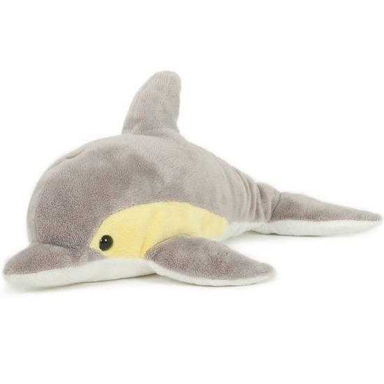 Pluche speelgoed dolfijn knuffeldier 33 cm