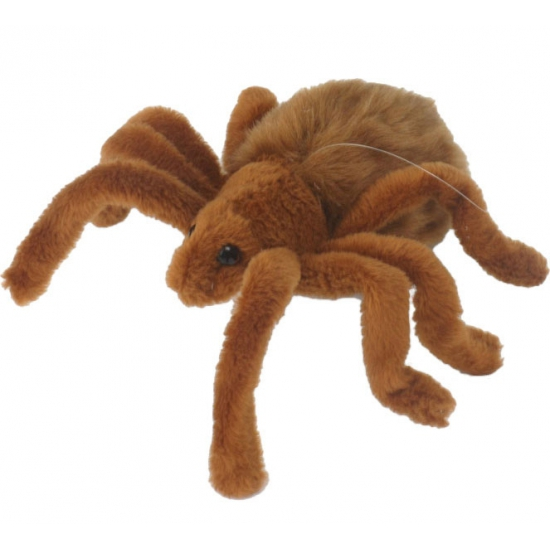 Pluche spinnen knuffel 19 cm