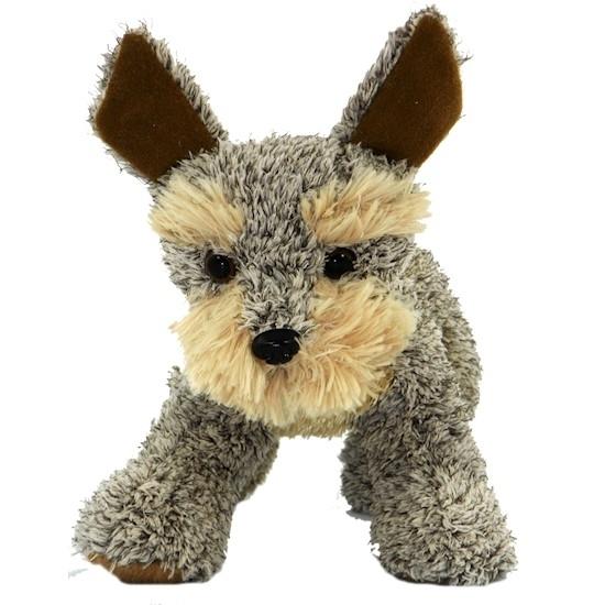 Pluche staande Welsh Terrier knuffel hond 30 cm