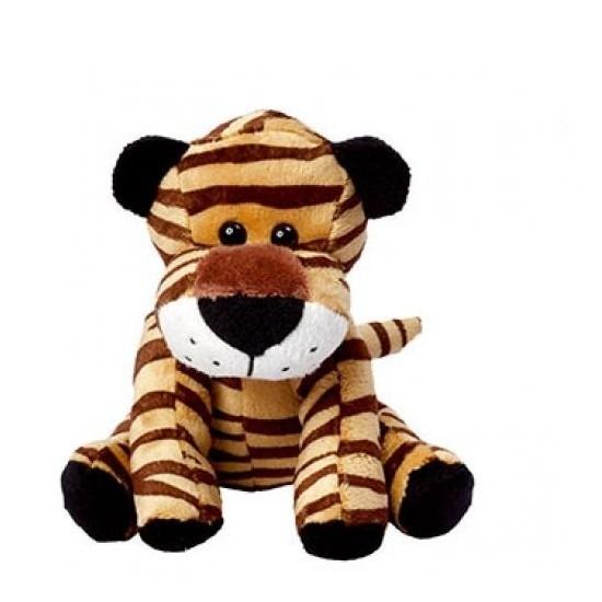 Pluche tijger knuffel - knuffeldier 20 cm