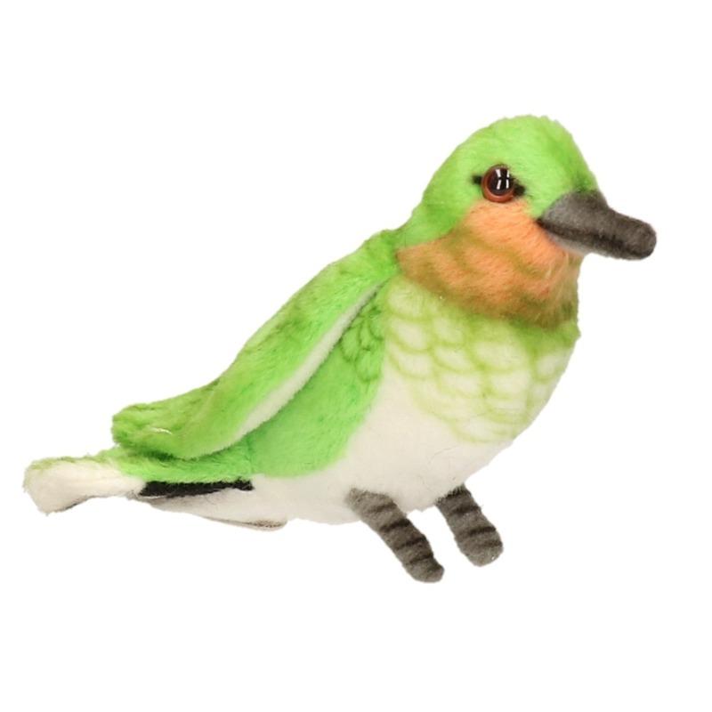 Pluche vogel knuffel Kolibrie 10 cm