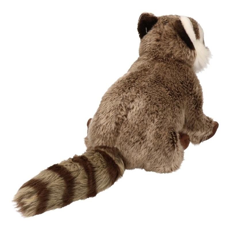 Pluche wasbeer knuffel dier 33 cm