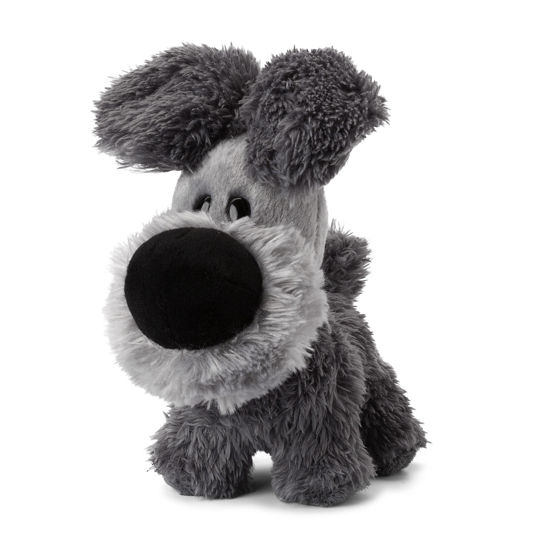 Pluche Woezel knuffel grijs 16 cm
