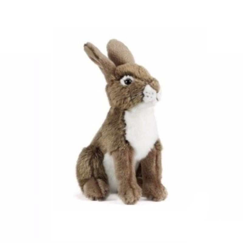 Pluche zittend konijn/haas knuffeldier 30 cm