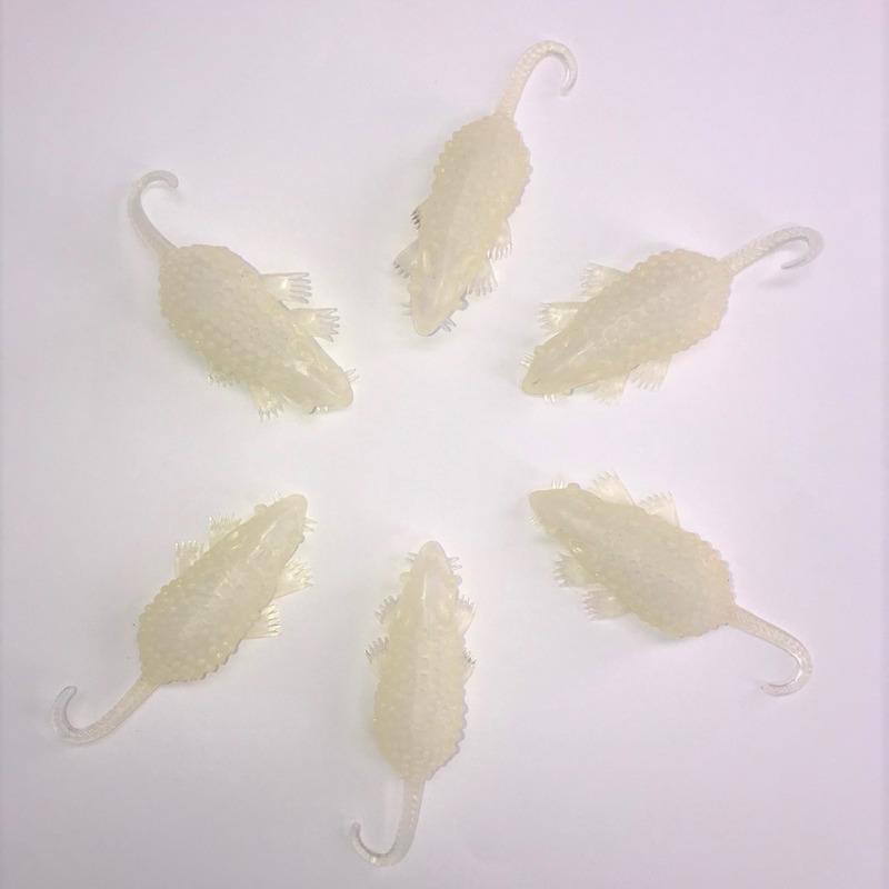 Ratten glow in the dark 8 cm