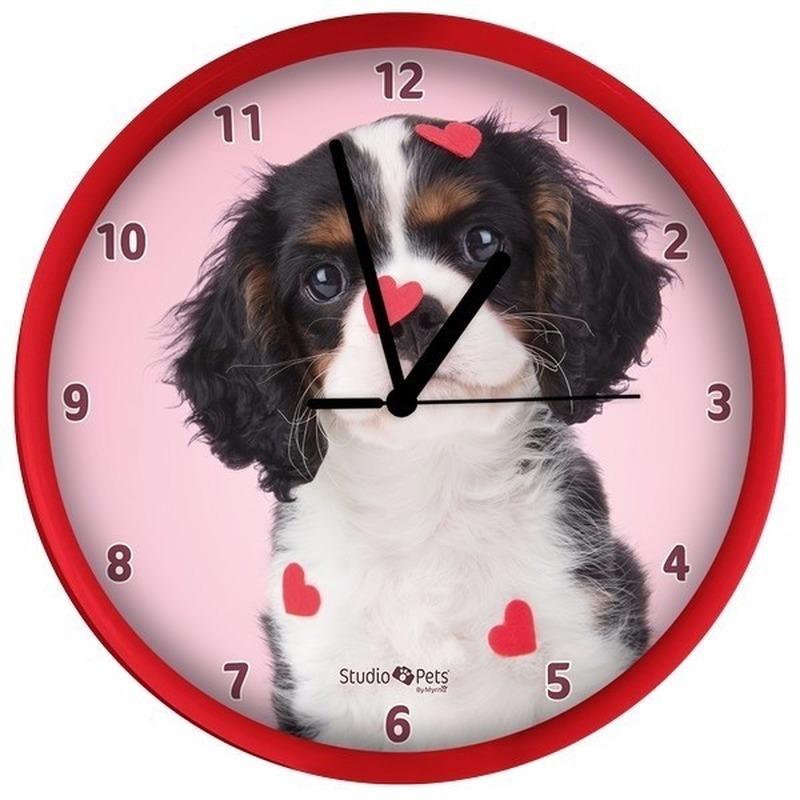 Rode hondenklok King Charles Spaniel