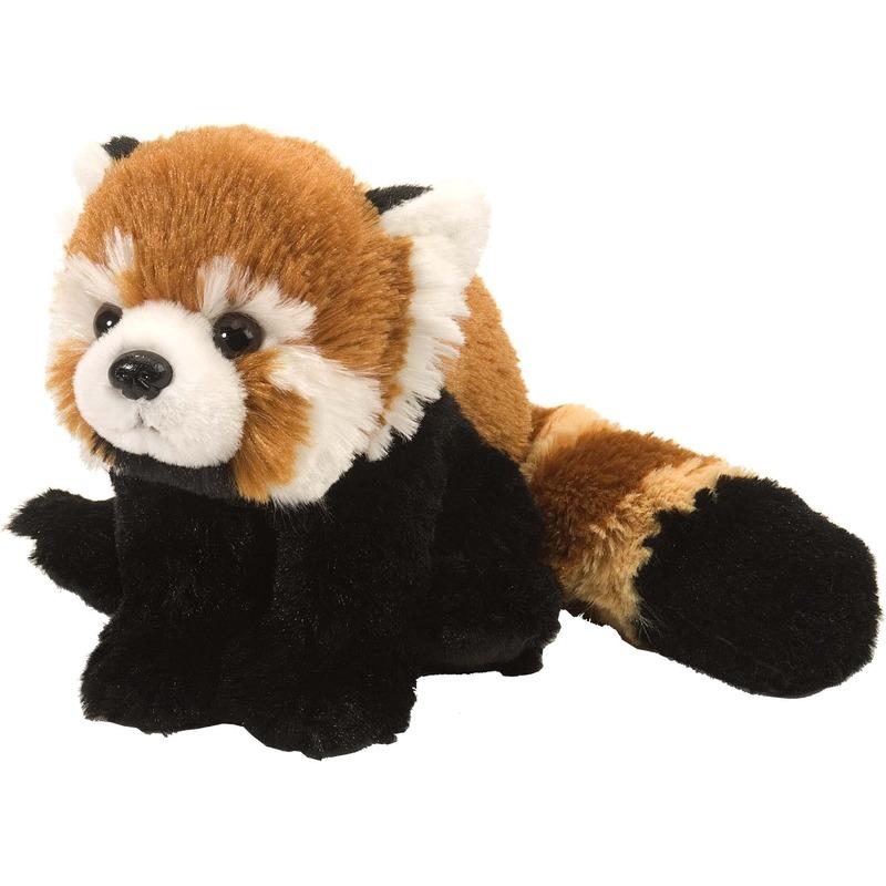 Rode panda knuffels 34 cm knuffeldieren