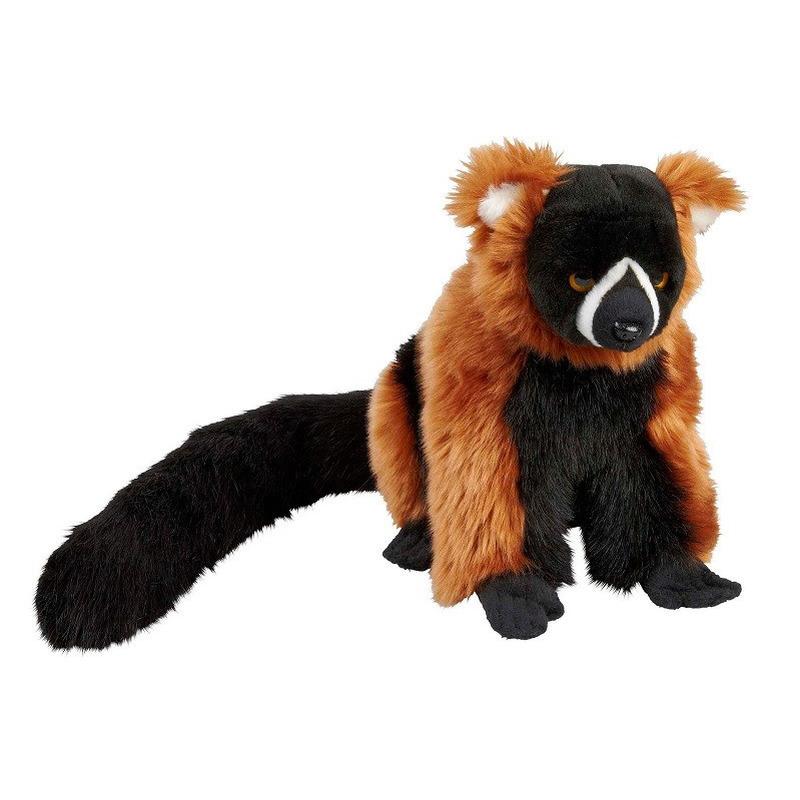 Rode vari aap knuffel 28 cm knuffeldieren