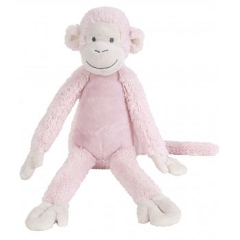 Roze knuffel aap 32 cm