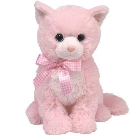 Roze Ty Beanie katten knuffels Duchess 22 cm knuffeldieren
