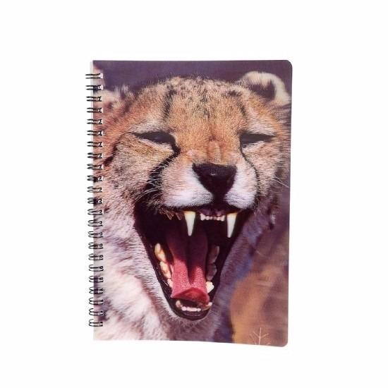 Schriftje luipaard 3D 21cm