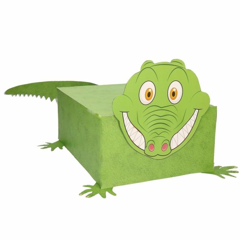 Sinterklaas surprise krokodil DIY pakket