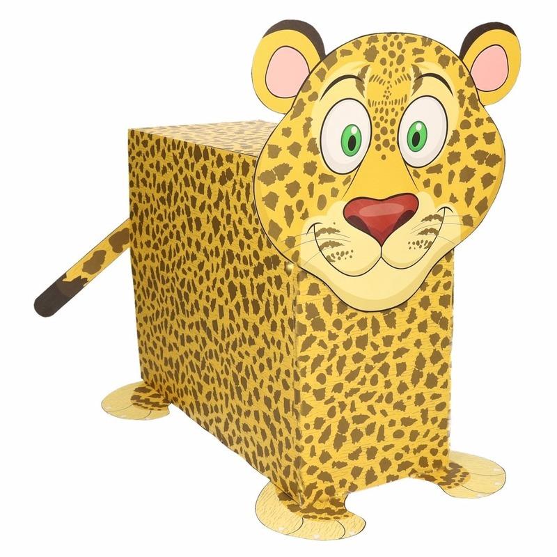 Sinterklaas surprise luipaard DIY pakket