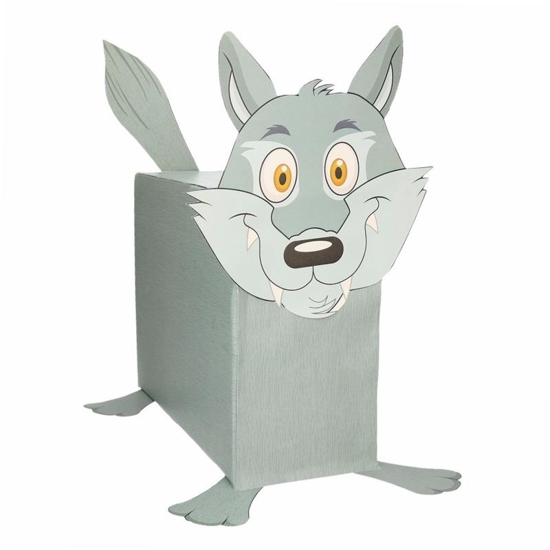 Sinterklaas surprise Wolf DIY pakket