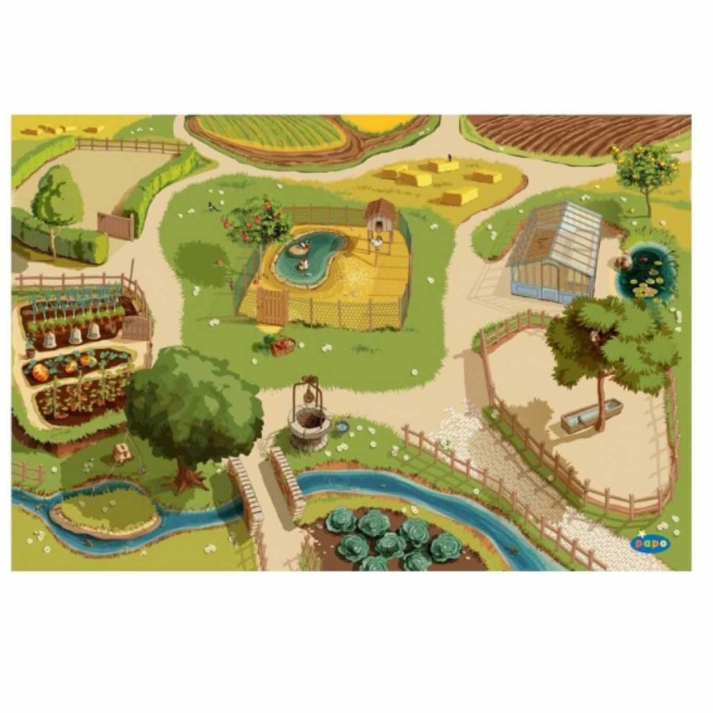 Speel tapijt boerderij