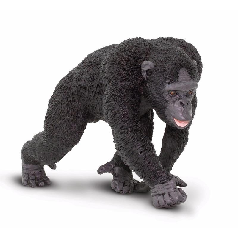 Speelgoed nep chimpansee 10 cm