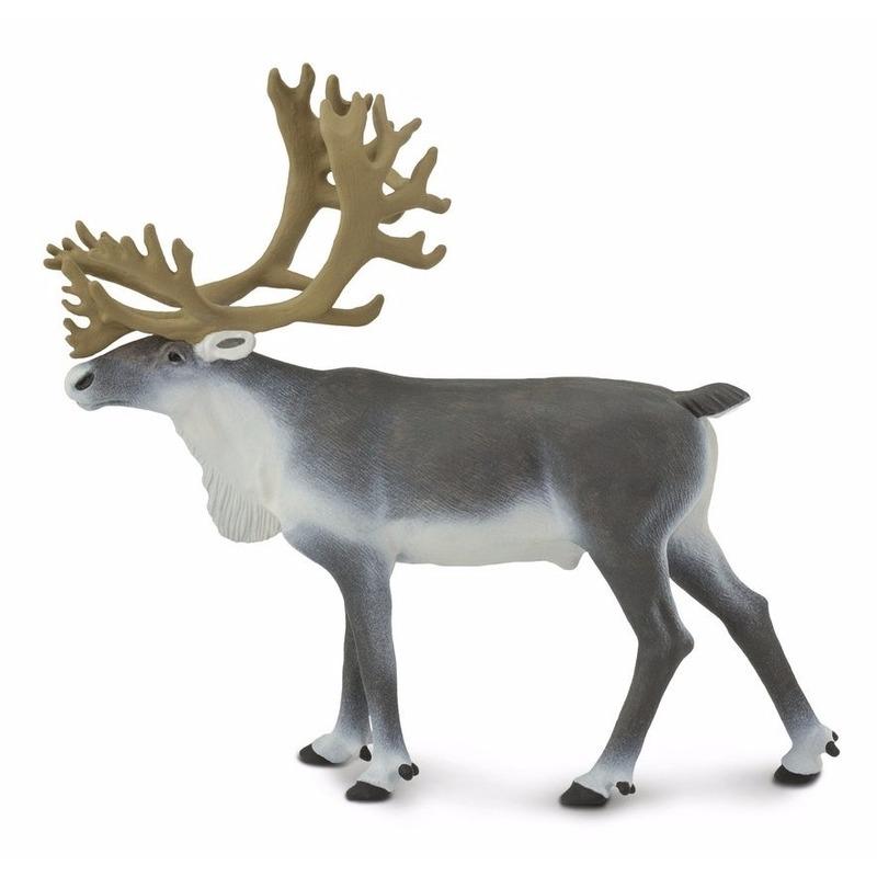 Afbeelding Speelgoed nep rendier/boskariboe 11 cm door Animals Giftshop