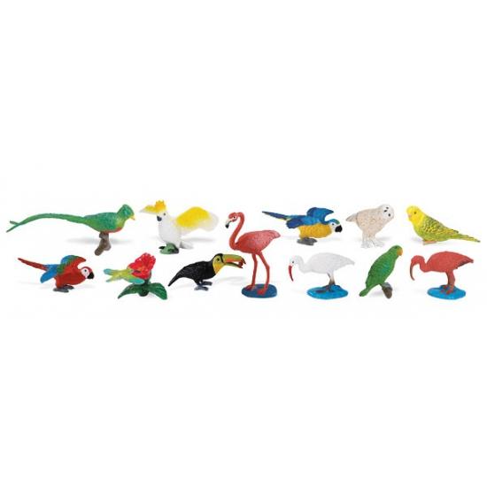 Speelset tropische vogels