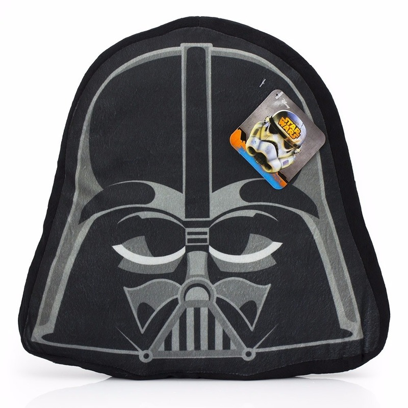 Star Wars Darth Vader kinderkamer kussentje 33 x 35 cm