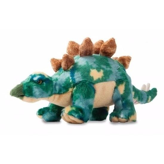 Stegosaurus groenedino knuffel 33 cm