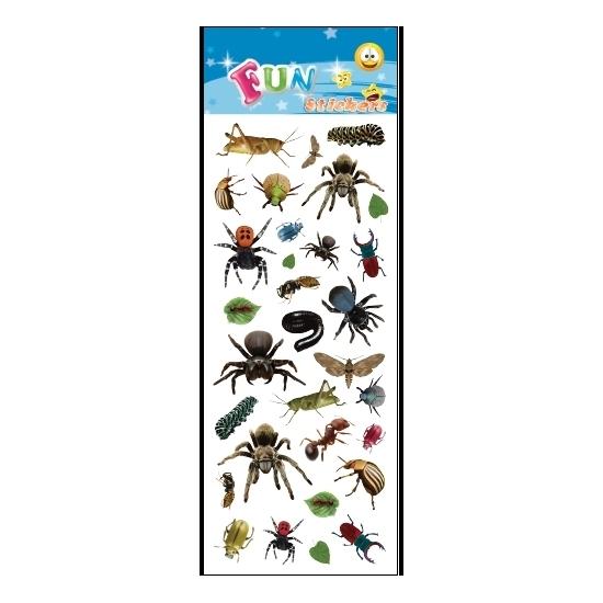 Stickervel insecten