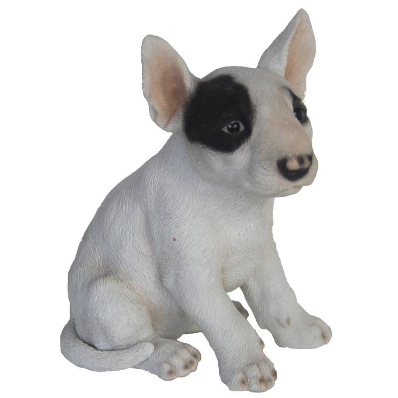 Tuinbeeldje Bull Terrier 18 cm