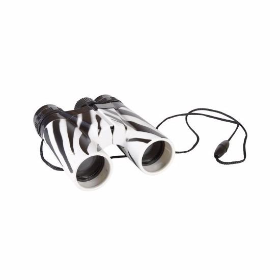 Verrekijker met zebraprint voor kinderen 11cm