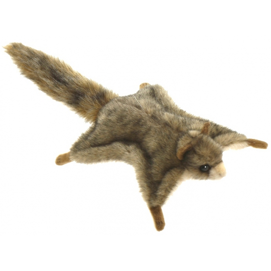 Vliegende pluche eekhoorn 21 cm
