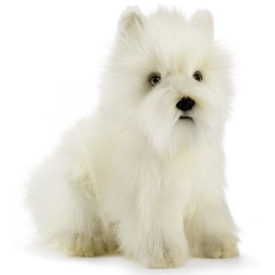 West Highland white Terrier knuffel hond 23 cm