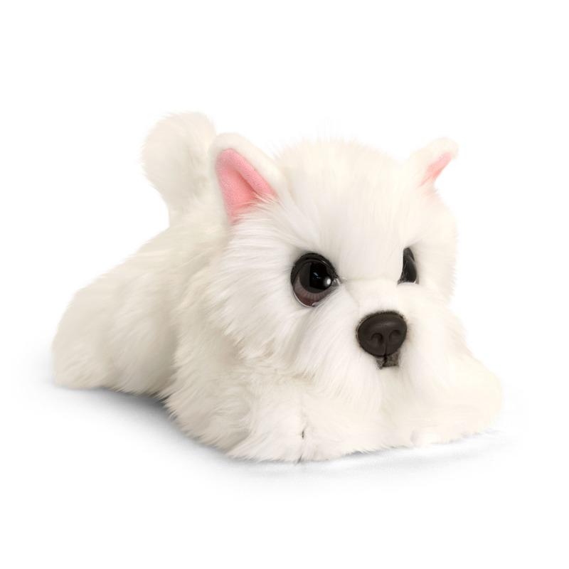 Westie honden knuffeldier 32 cm