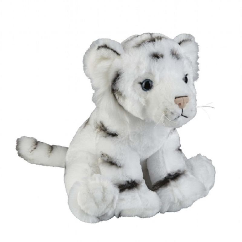 Witte tijger knuffel 30 cm knuffeldieren