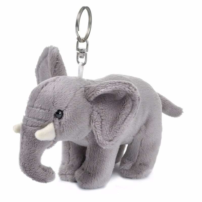 WNF pluche sleutelhangers olifant 10 cm